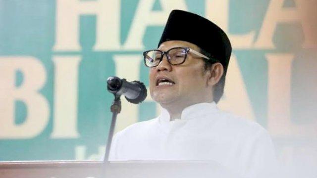Ketua Umum Partai Kebangkitan Bangsa (PKB) Abdul Muhaimin Iskandar