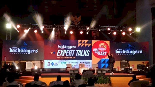 orum Backstagers Indonesia menggelar pelantikan dan rapat kerja nasional (Rakernas) di Kota Makassar.