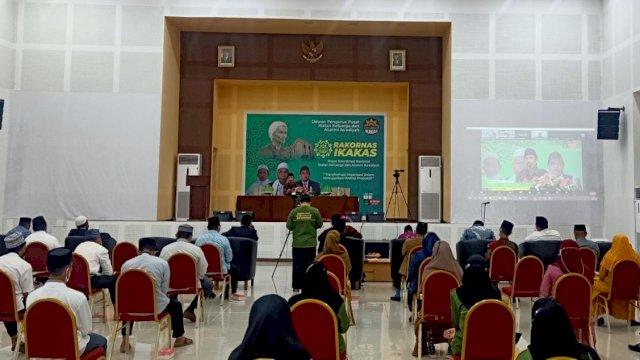 DPP Ikatan Alumni dan Keluarga As'adiyah (Ikakas) menggelar rapat koordinasi nasional (Rakornas) di gedung PPG UIN Alauddin Makassar, Jln Paopao, Minggu, 19 September 2021.