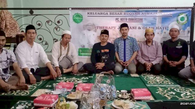 """Pengurus Cabang Keluarga Besar Ruqyah Aswaja (KBRA) Kota Makassar meresmikan """"Rumah Sehat"""" di Jl. Dg Tata I No IVC, Makassar, Minggu, 19 September 2021."""