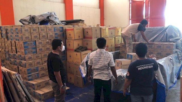 BPBD Sulsel siapkan bantuan logistik untuk korban banjir di Kabupaten Luwu.