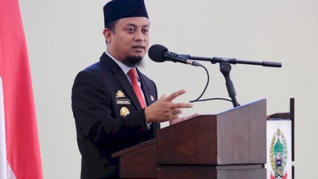 Plt Gubernur Sulawesi Selatan Andi Sudirman Sulaiman.
