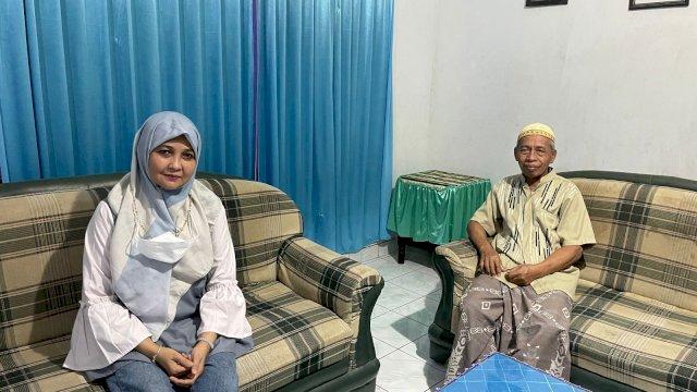 Andi Nurhidayati Zainuddin menemui Mantan Ketua DPC PPP Soppeng, H. Alfian Syamsuddin, Jum'at, 24 September 2021.