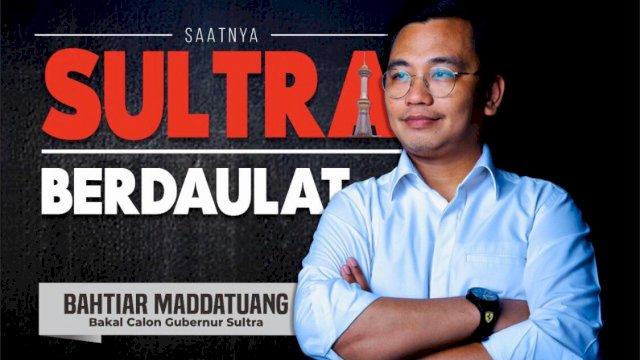 Bakal Calon Gubernur Sulawesi Tenggara (Sultra) Bahtiar Maddatuang.