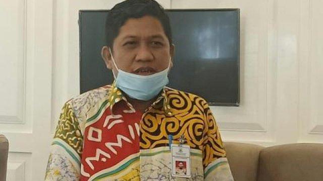 Kepala Dinas Komunikasi, Informatika, Statistik, dan Persandian Sulsel, Amson Padolo.