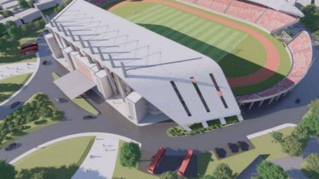 Desain Stadion Mattoanging