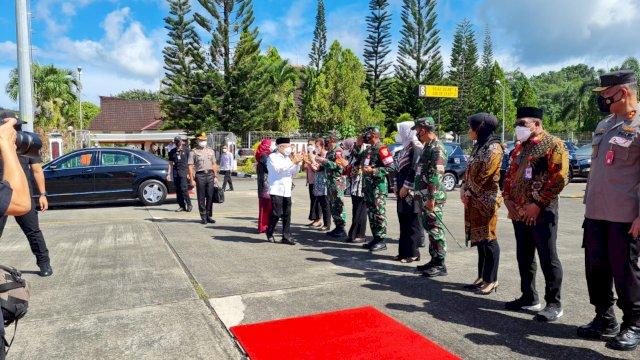 Kunjungan Wapres ke Papua Barat.