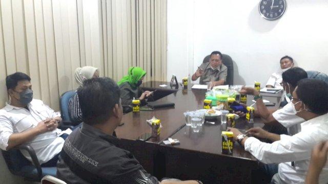 Fraksi PPP DPRD Makassar saat menggelar rapat internal.