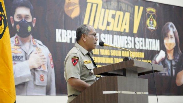 Ketua Pengurus Daerah Keluarga Besar Putra Putri Polri (KBPP) Polri Sulawesi Selatan, Ilham Arif Sirajuddin (IAS)