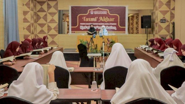 Tasmi' Akbar Karantina Tahfizh Nasional Darul Istiqamah.
