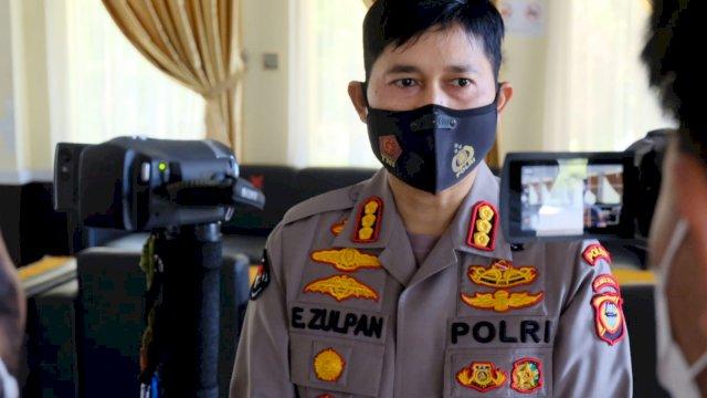 Kabid Humas Polda Sulawesi Selatan, Kombes Pol E Zulpan.