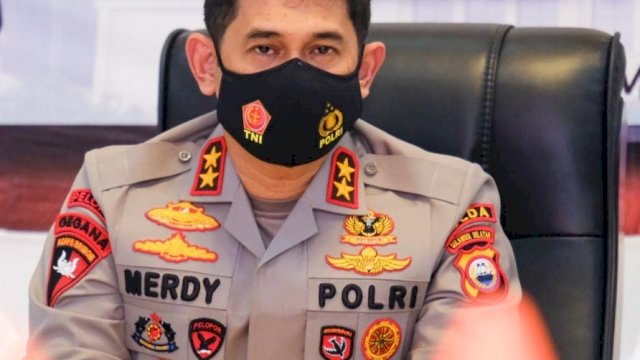 Kepala Kepolisian Daerah Kapolda Sulawesi Selatan Irjen Pol Merdisyam.